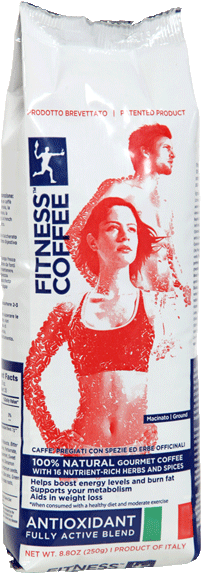 Fitness coffee antioxidant